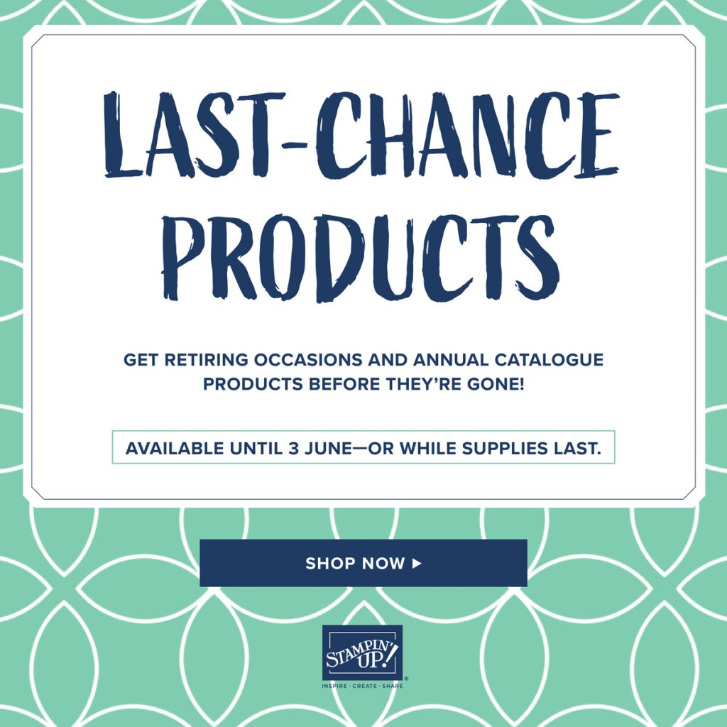 Last Chance Products.